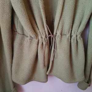 Emma James Sweaters - Emma James Cardigan Sweater Olive Green Size Large